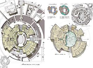 Мария Седова Ни шагу назад   свой дипломный проект Гастрольный театр Никита Голышев вдохновляется сталинскими высотками при создании своего многоэтажного жилого дома